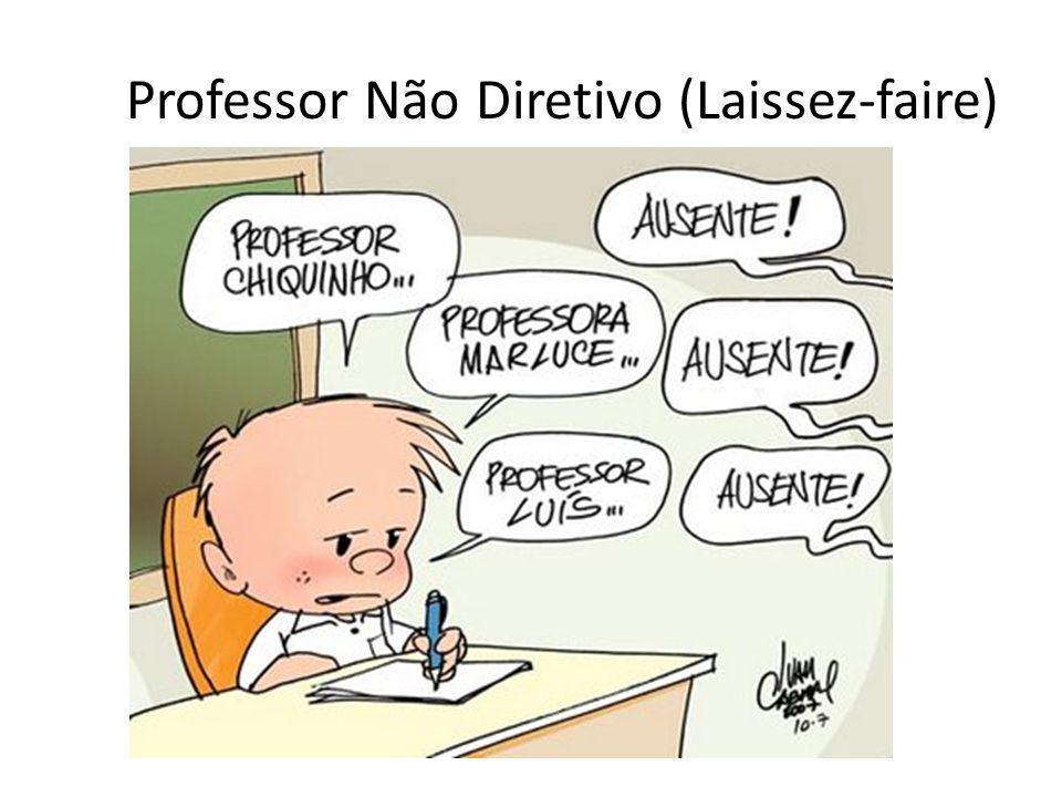 Professor Não Diretivo (Laissez-faire)