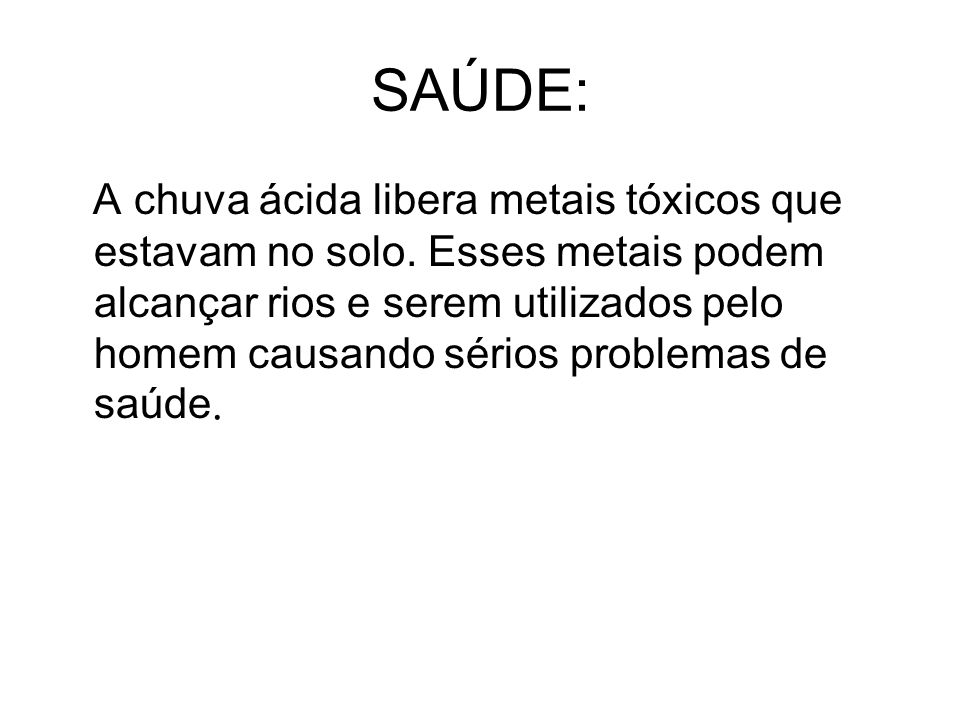 SAÚDE: