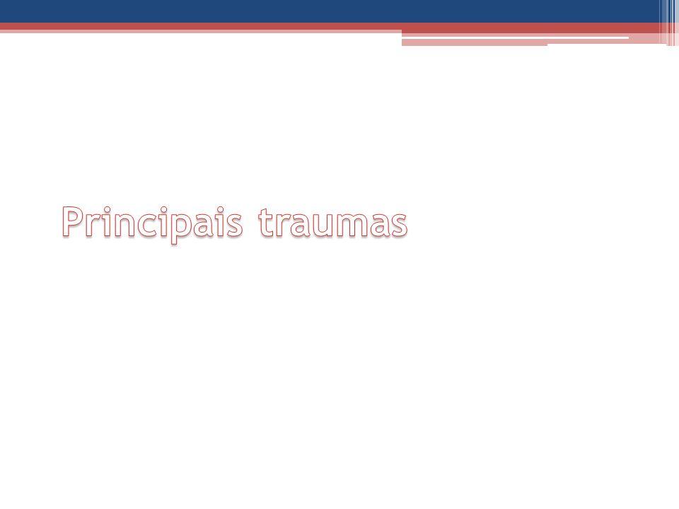 Principais traumas
