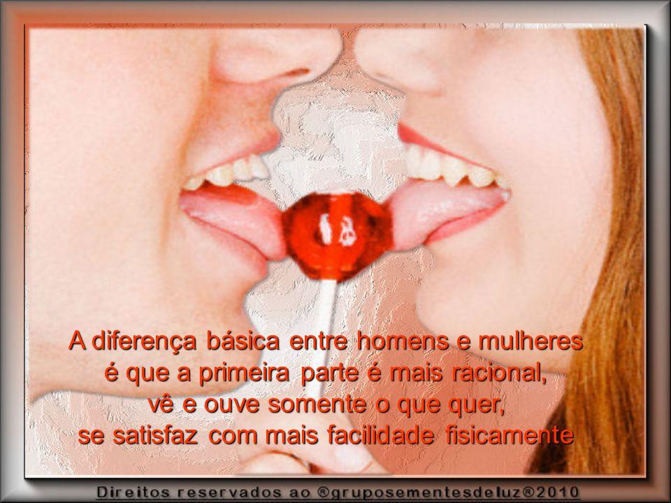 A diferença básica entre homens e mulheres