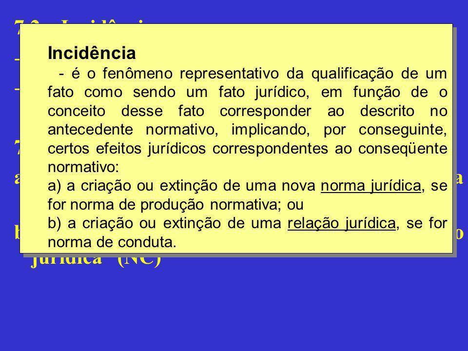 7.3 – Causalidade jurídica: