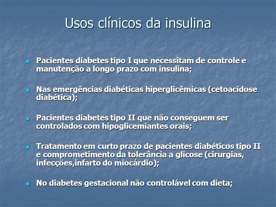 Usos clínicos da insulina