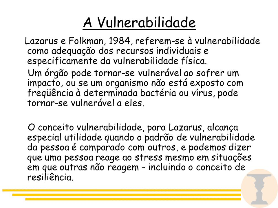 A Vulnerabilidade