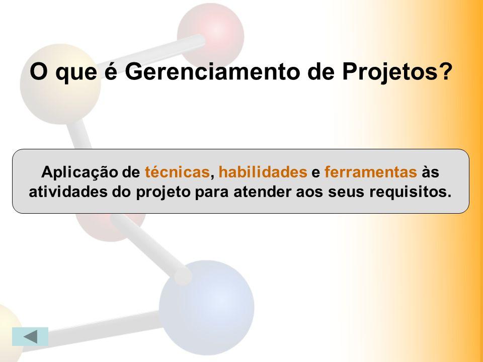 O que é Gerenciamento de Projetos