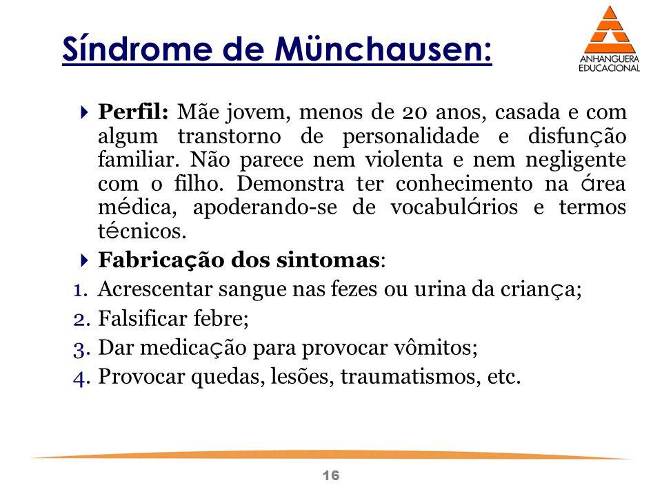 Síndrome de Münchausen: