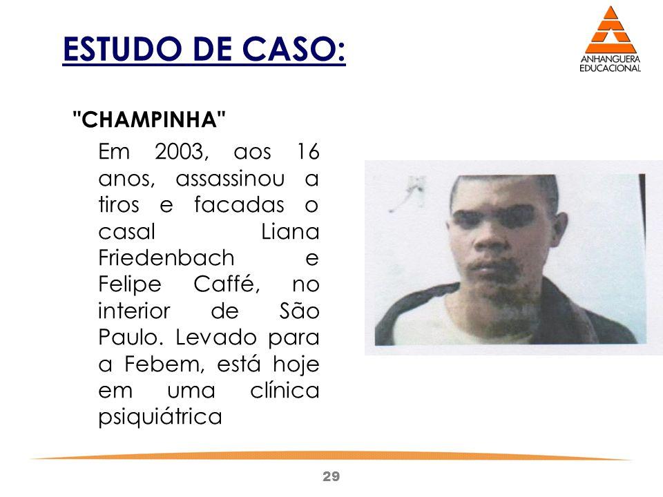 ESTUDO DE CASO: CHAMPINHA