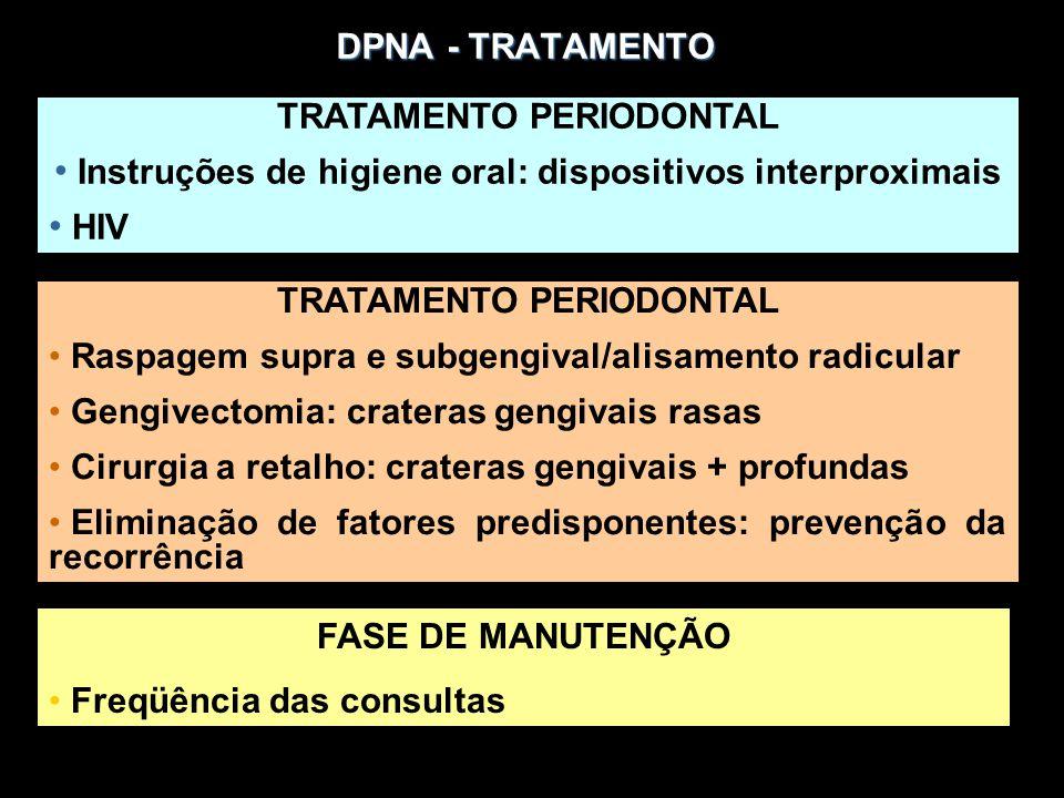 TRATAMENTO PERIODONTAL