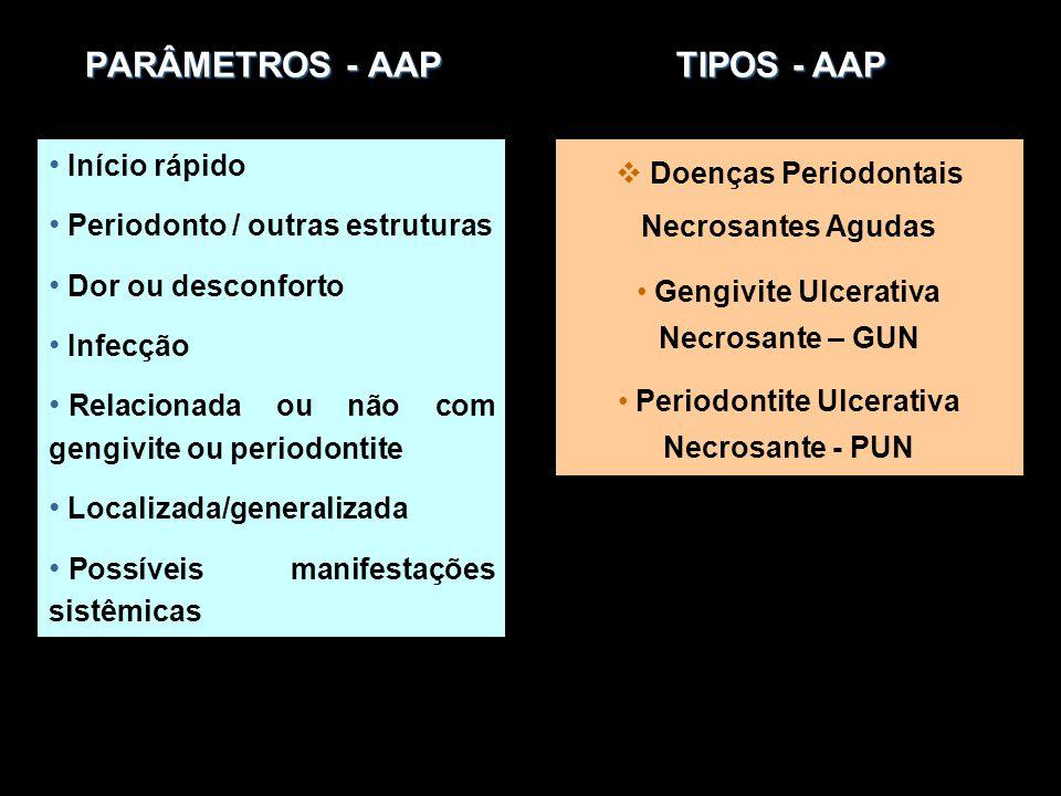 PARÂMETROS - AAP TIPOS - AAP
