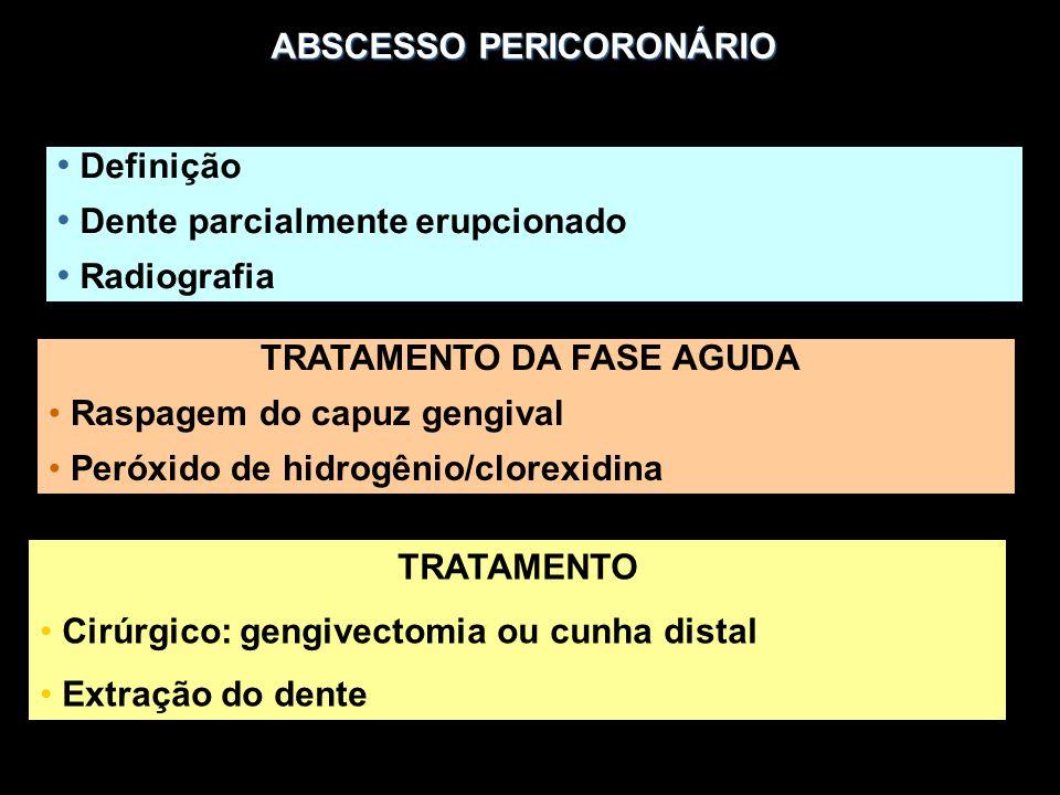 ABSCESSO PERICORONÁRIO