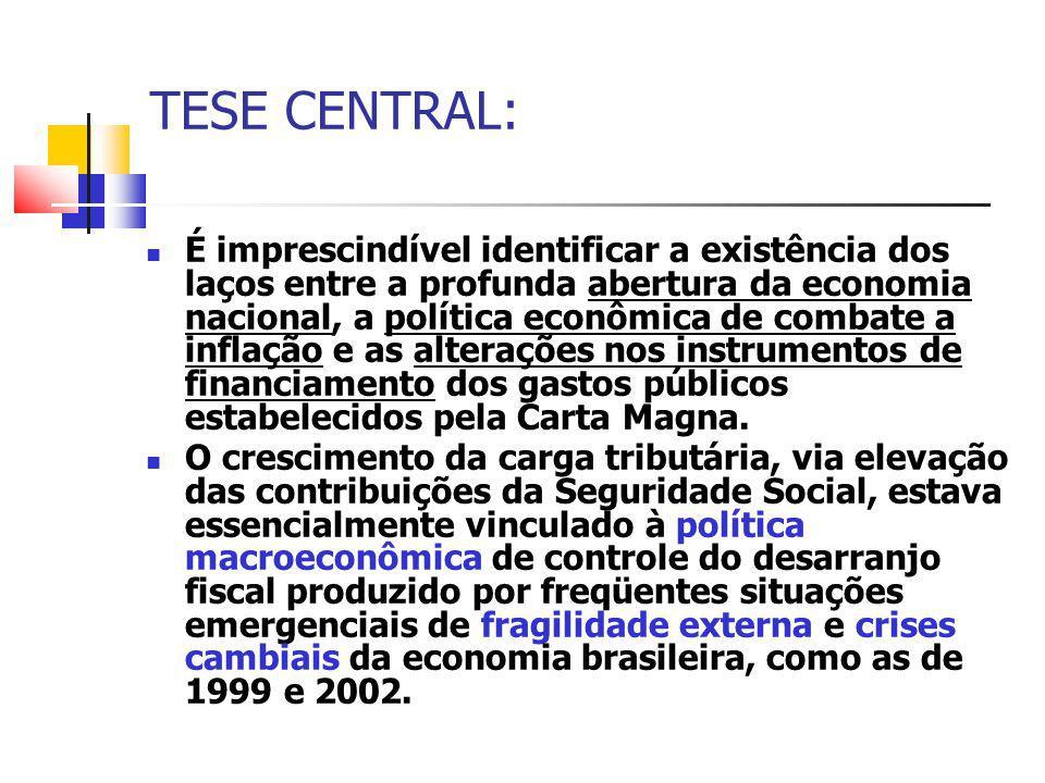 TESE CENTRAL: