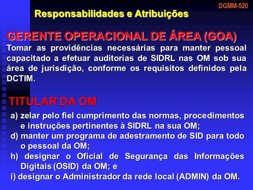 GERENTE OPERACIONAL DE ÁREA (GOA)