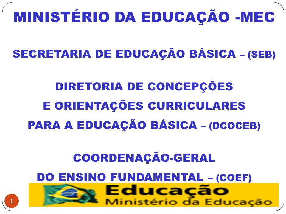 MINISTÉRIO DA EDUCAÇÃO -MEC