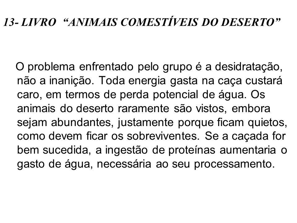 13- LIVRO ANIMAIS COMESTÍVEIS DO DESERTO
