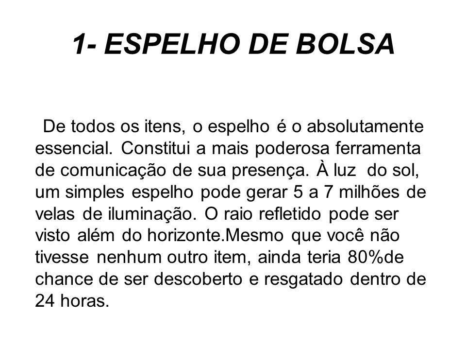 1- ESPELHO DE BOLSA