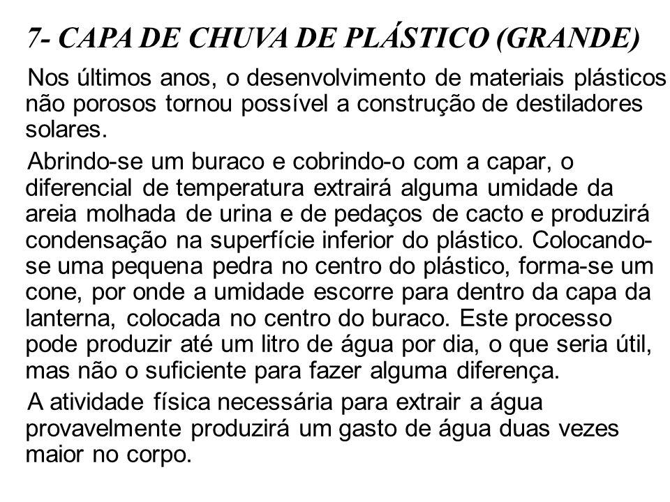7- CAPA DE CHUVA DE PLÁSTICO (GRANDE)