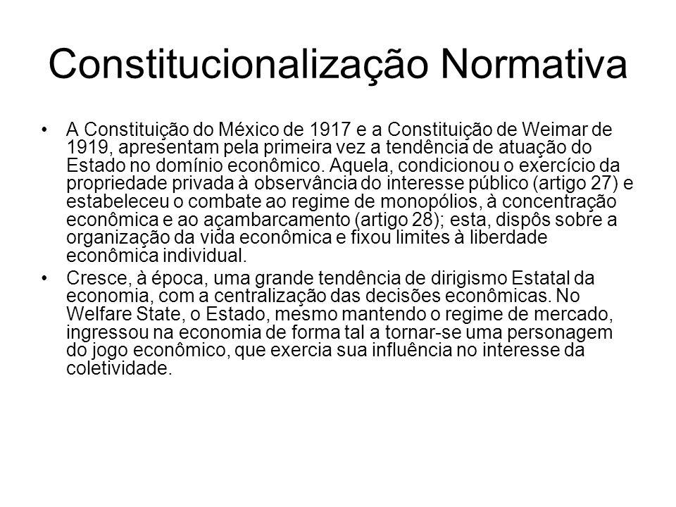 Constitucionalização Normativa