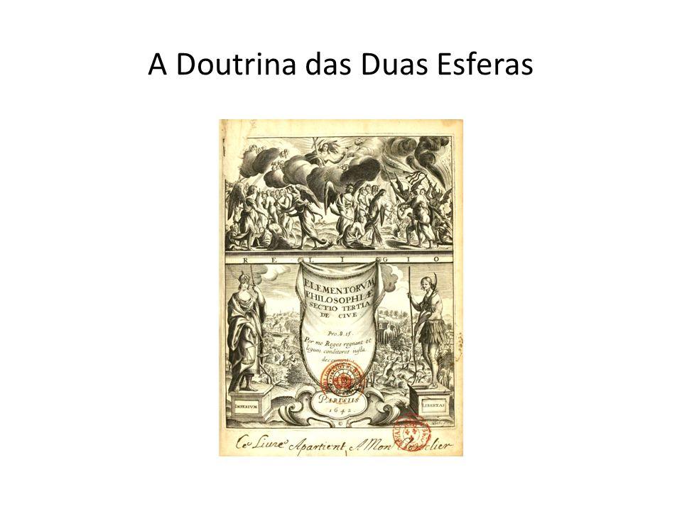 A Doutrina das Duas Esferas