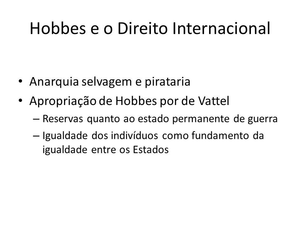 Hobbes e o Direito Internacional