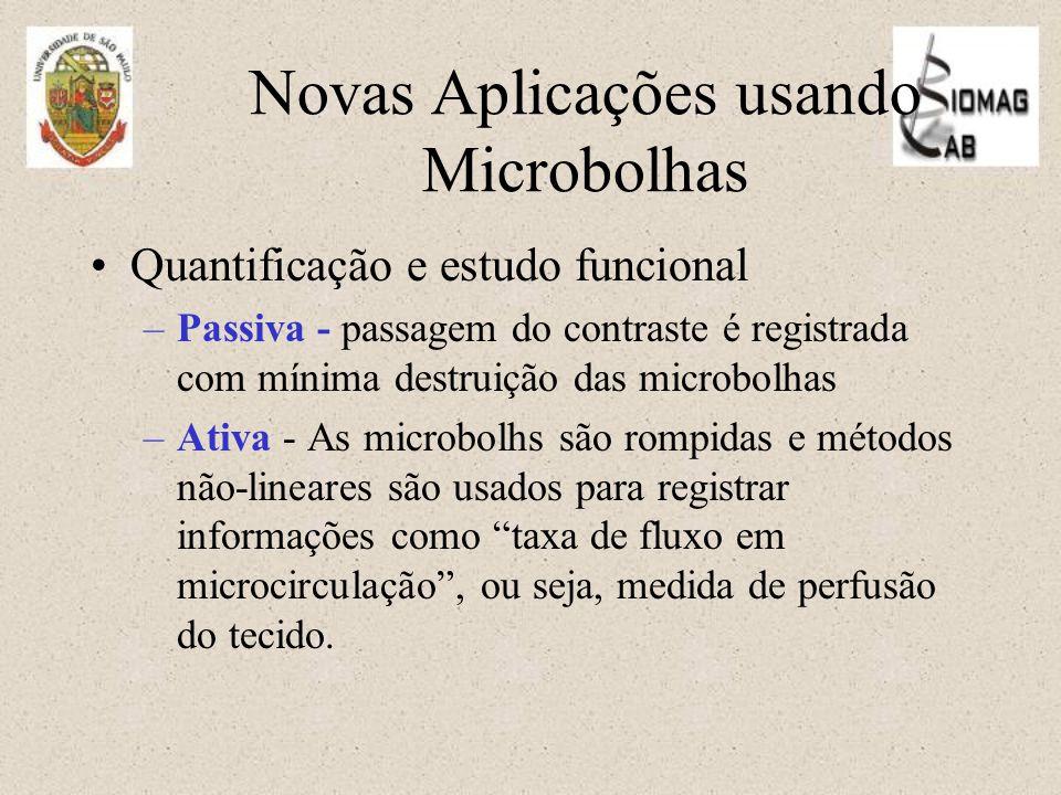 Novas Aplicações usando Microbolhas