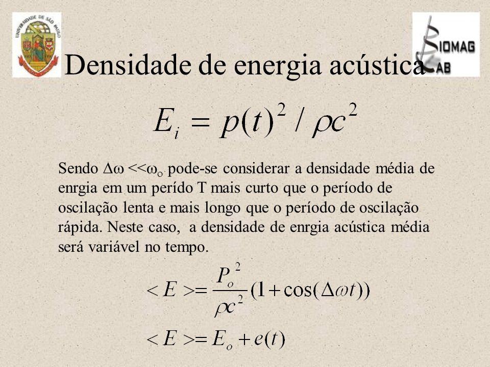 Densidade de energia acústica