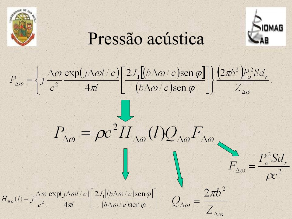 Pressão acústica