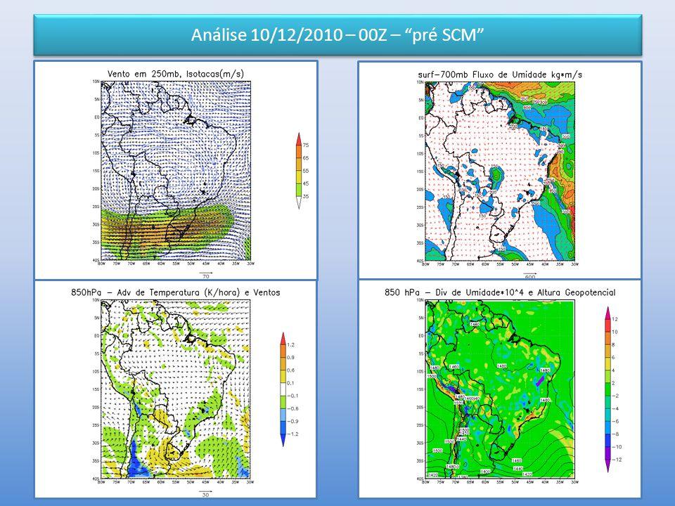 Análise 10/12/2010 – 00Z – pré SCM