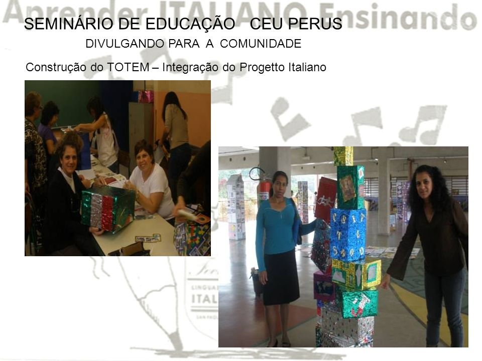 SEMINÁRIO DE EDUCAÇÃO CEU PERUS