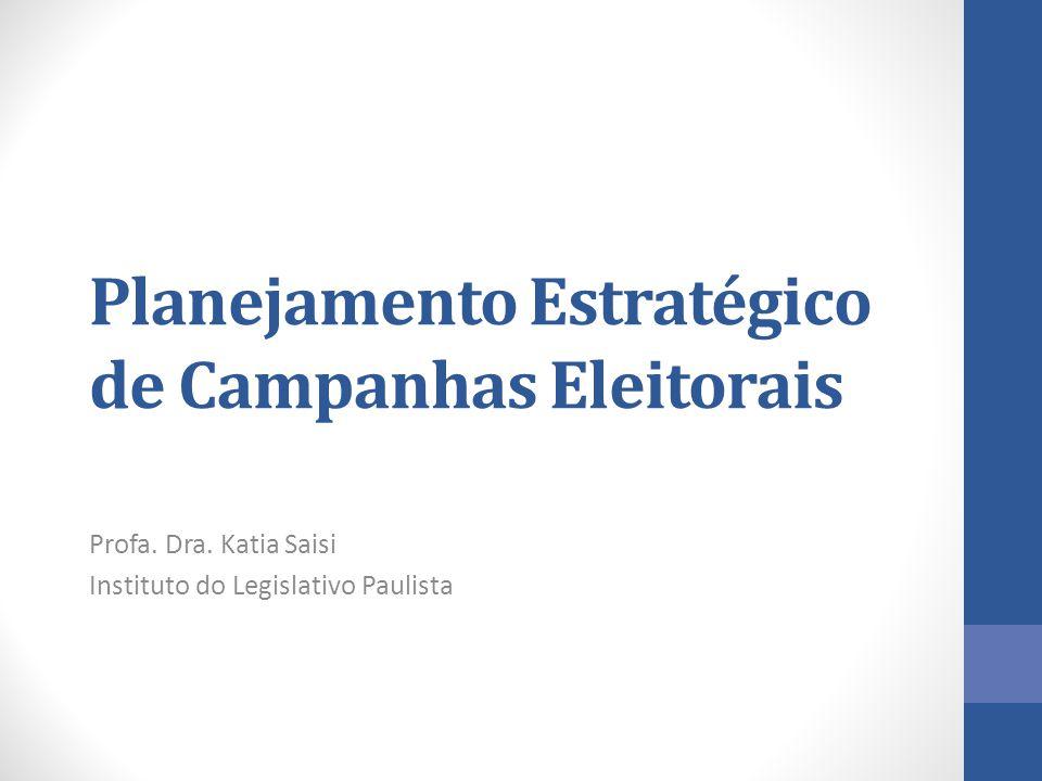Planejamento Estratégico de Campanhas Eleitorais