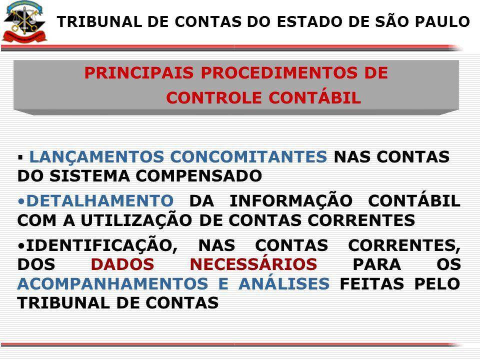 PRINCIPAIS PROCEDIMENTOS DE