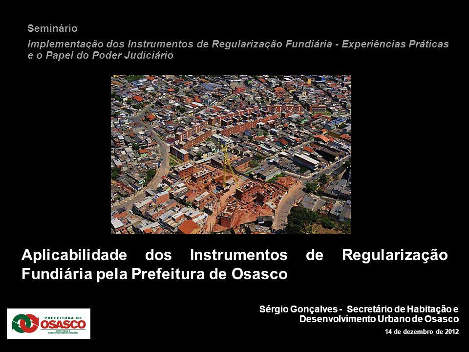 Seminário Implementação dos Instrumentos de Regularização Fundiária - Experiências Práticas e o Papel do Poder Judiciário.