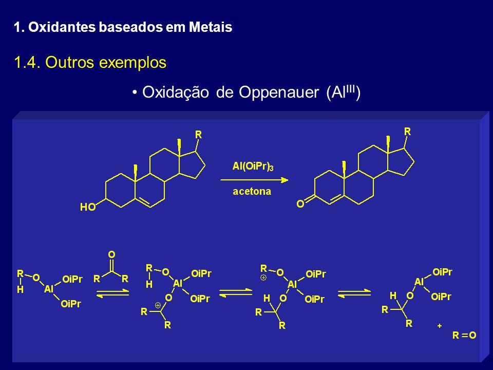 Oxidação de Oppenauer (AlIII)