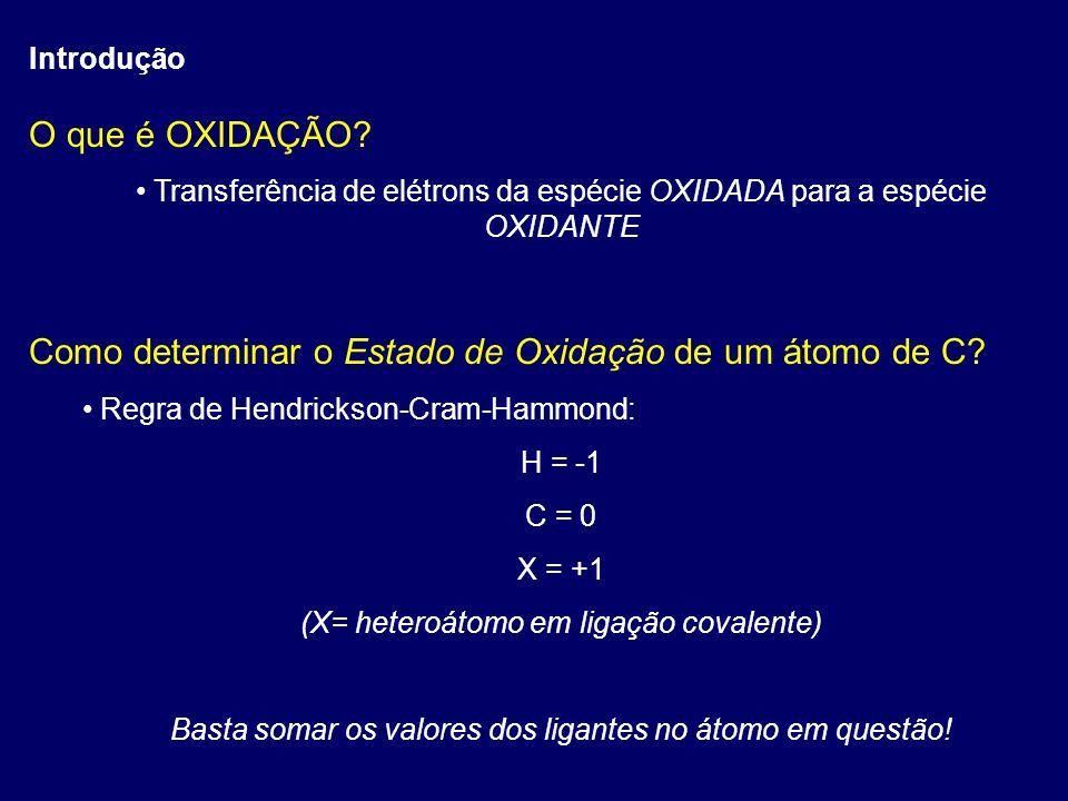 Como determinar o Estado de Oxidação de um átomo de C