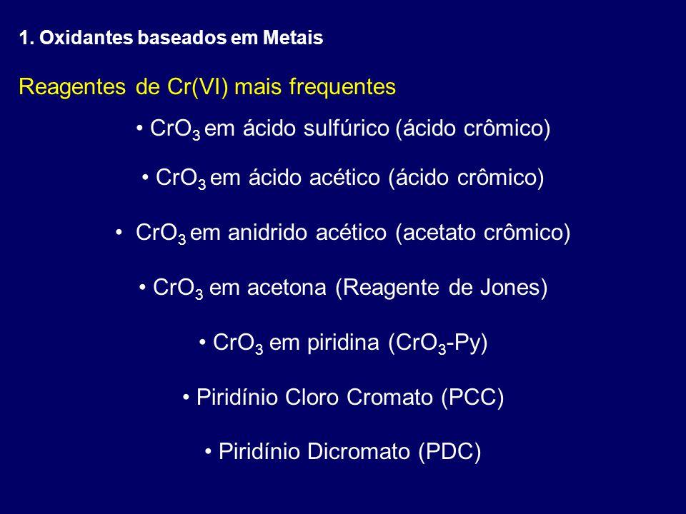 Reagentes de Cr(VI) mais frequentes