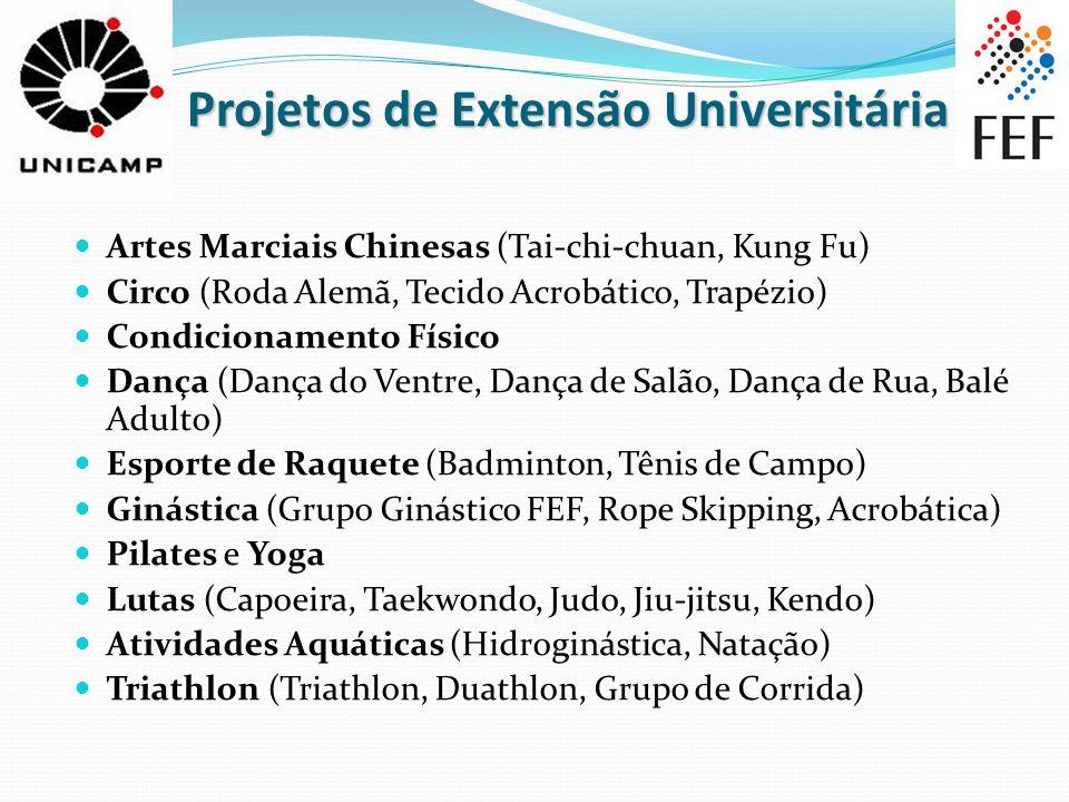 Projetos de Extensão Universitária
