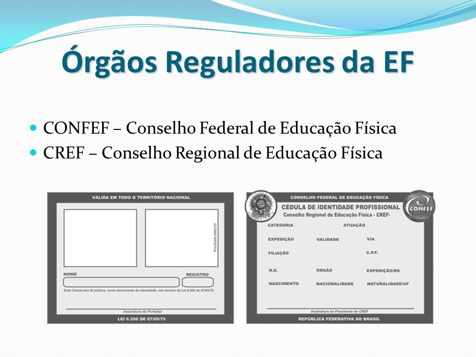 Órgãos Reguladores da EF