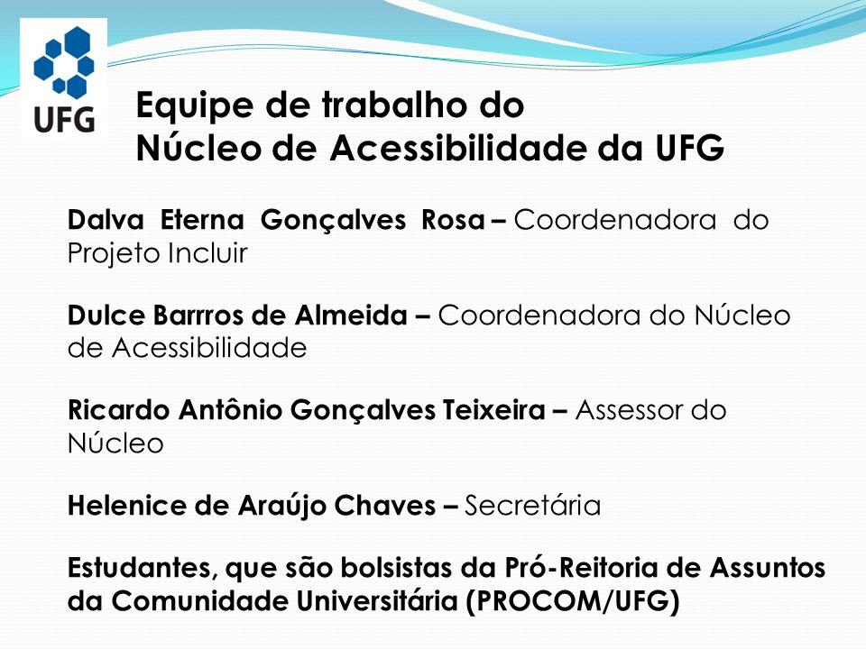 Núcleo de Acessibilidade da UFG