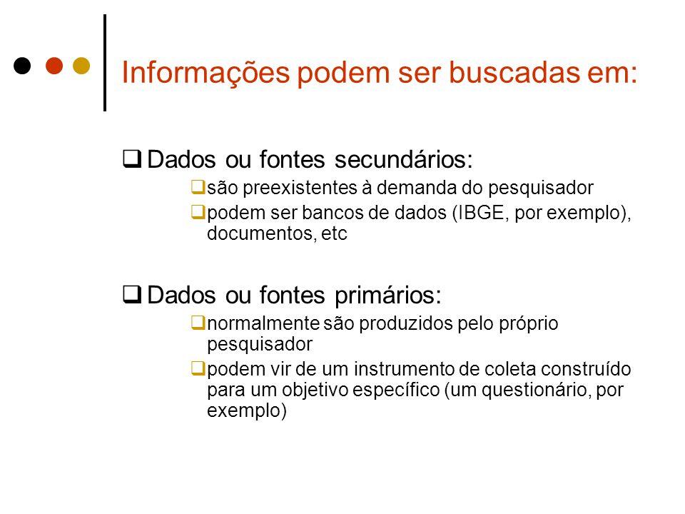 Informações podem ser buscadas em: