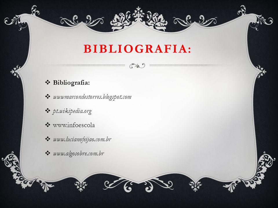 Bibliografia: Bibliografia: wwwmarcondestorres.blogspot.com