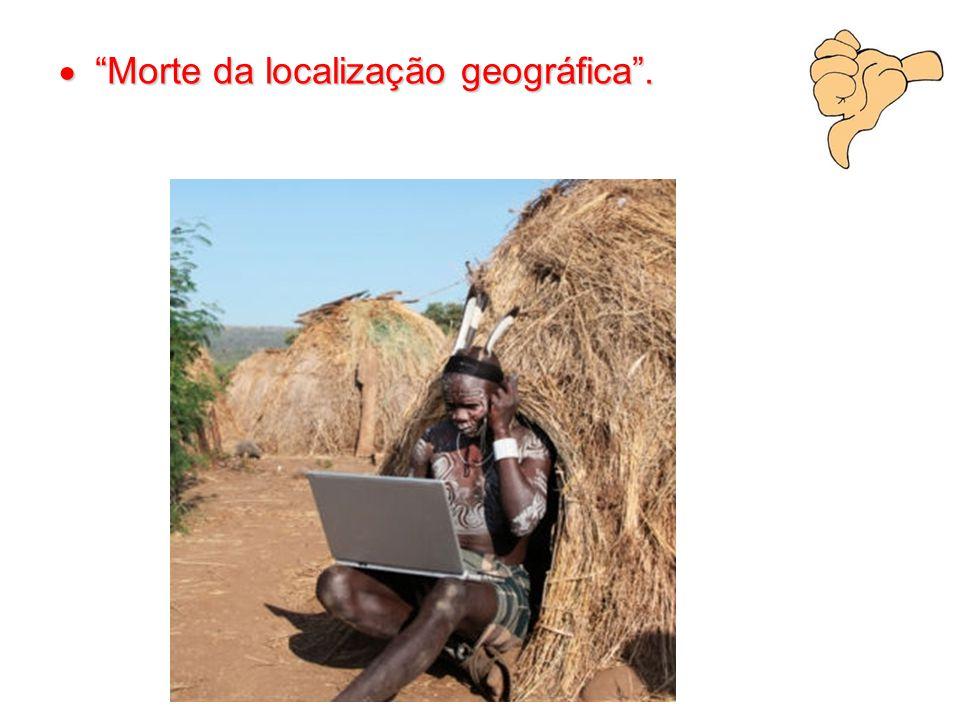  Morte da localização geográfica .