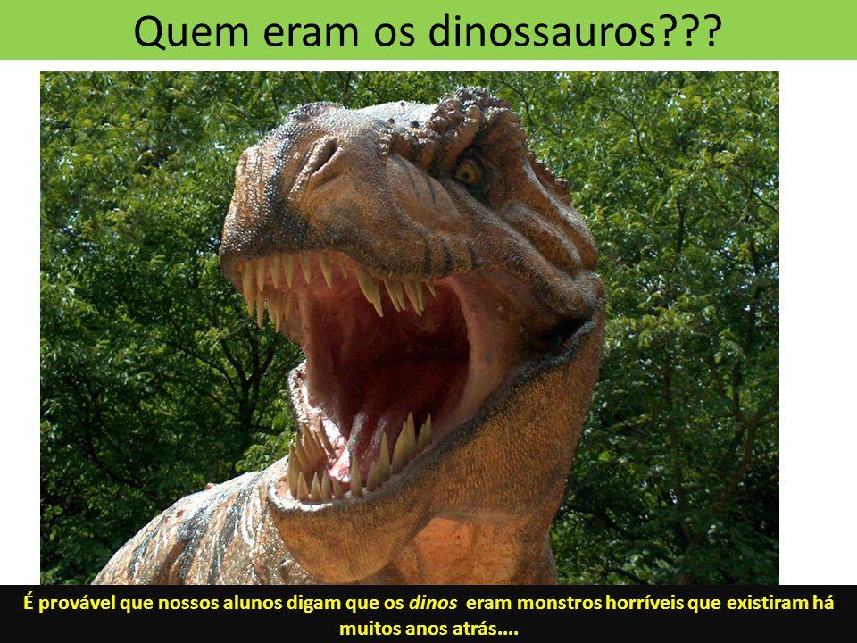 Quem eram os dinossauros