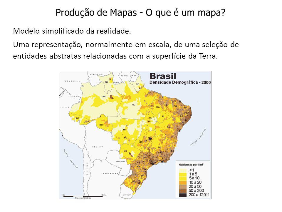 Produção de Mapas - O que é um mapa