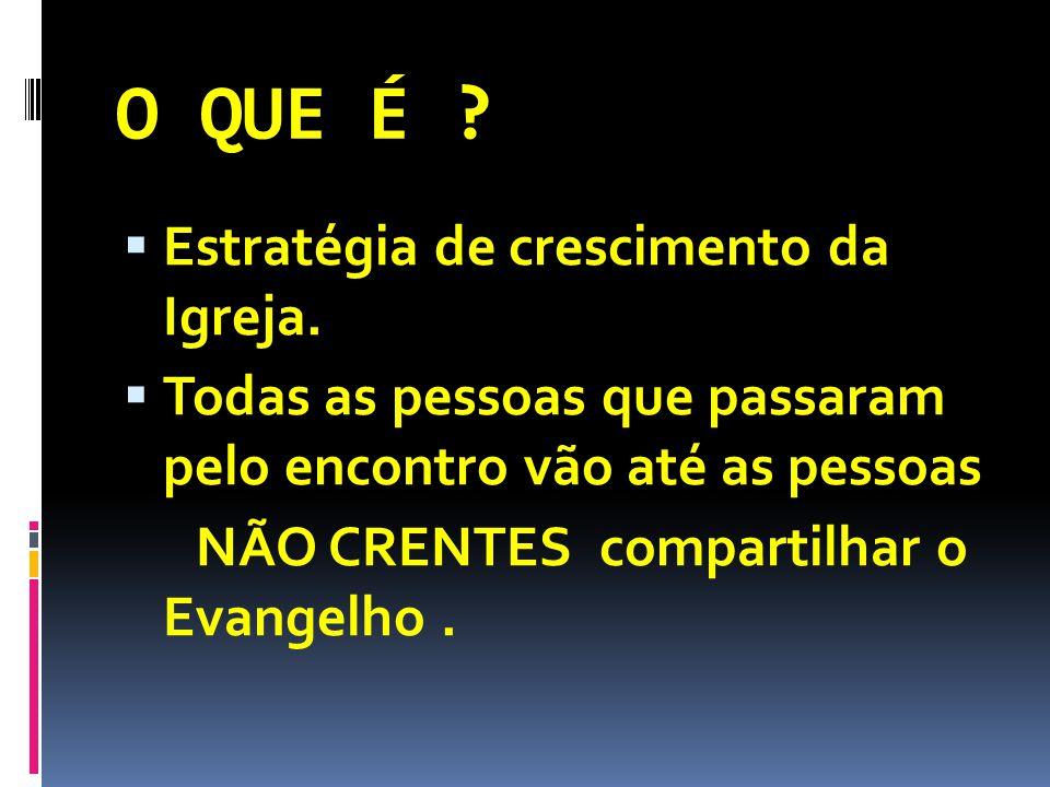O QUE É Estratégia de crescimento da Igreja.