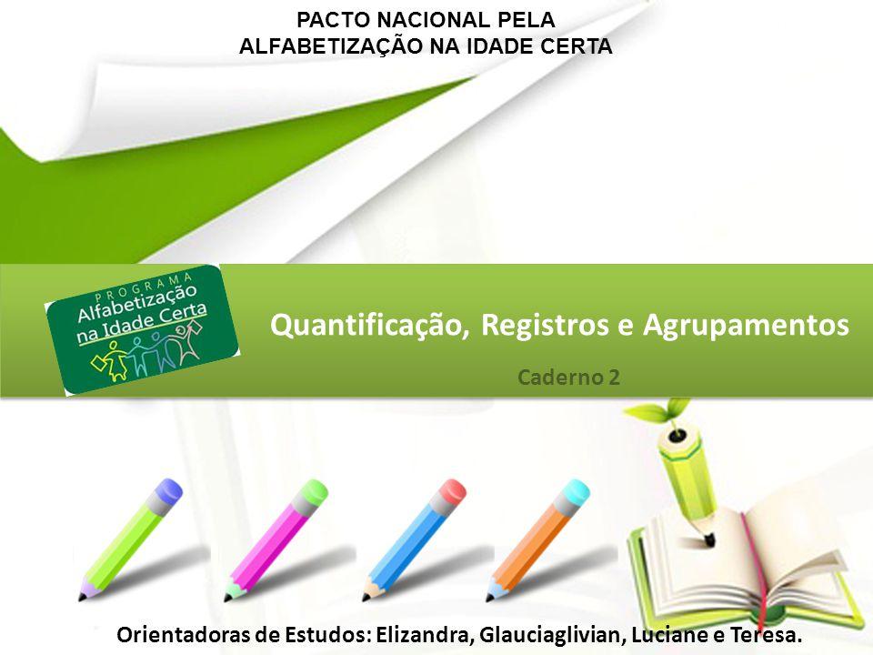Quantificação, Registros e Agrupamentos
