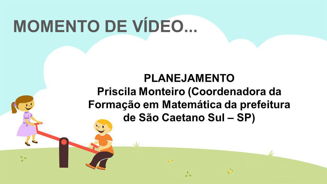 MOMENTO DE VÍDEO... PLANEJAMENTO