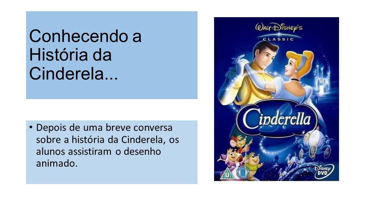 Conhecendo a História da Cinderela...