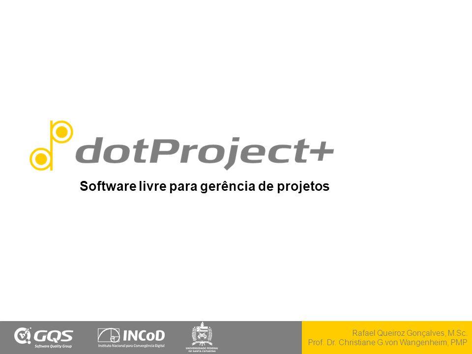 Software livre para gerência de projetos