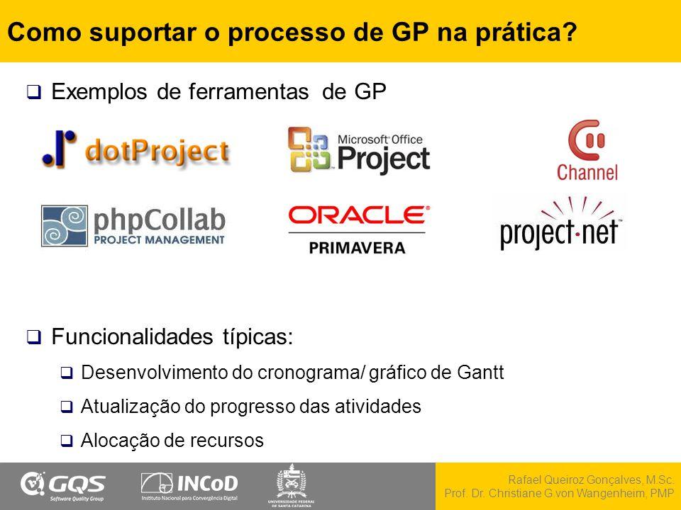 Como suportar o processo de GP na prática