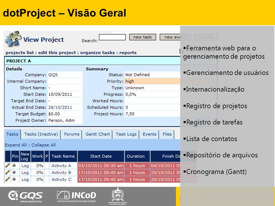 dotProject – Visão Geral