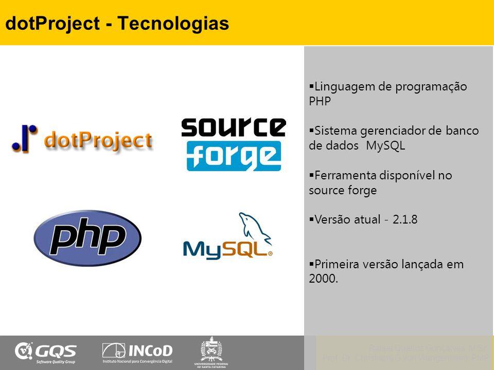 dotProject - Tecnologias