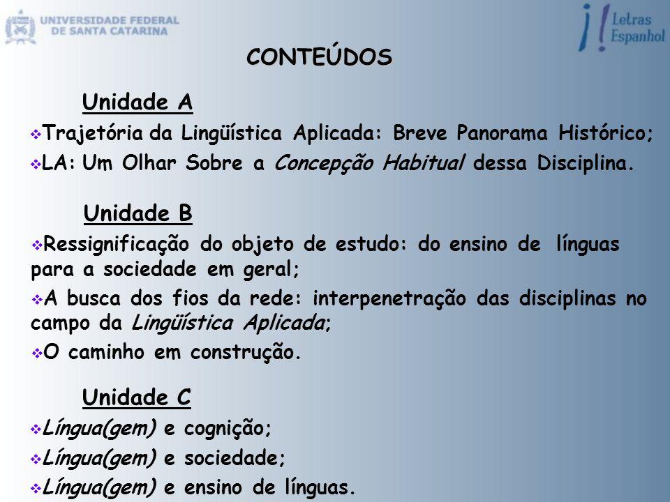 CONTEÚDOS Unidade A Unidade B Unidade C